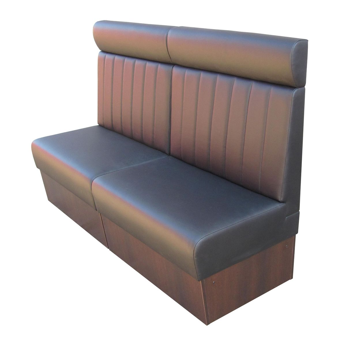 diner booth with headrest