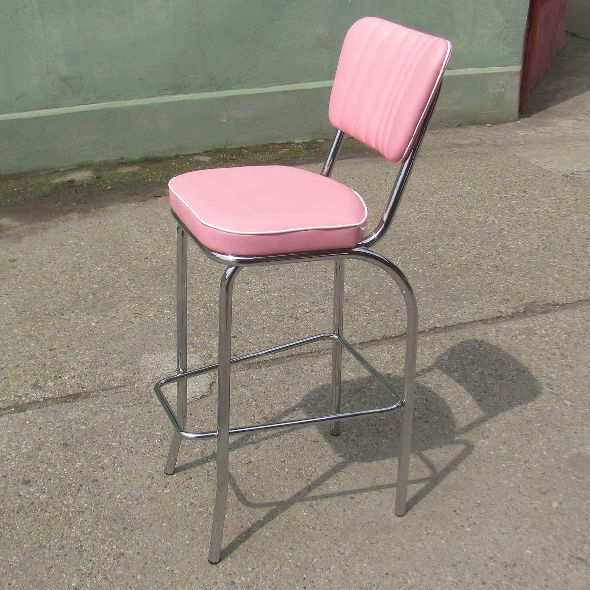 american 50s bar stool